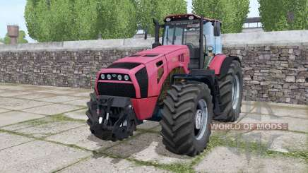 Bielorrússia 4522 juntamente rodas para Farming Simulator 2017