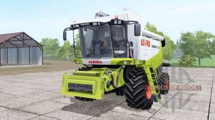 Claas Lexion 550 interaktive steuerung para Farming Simulator 2017