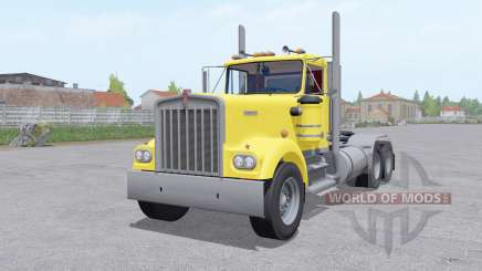 Kenworth W900A 6x6 para Farming Simulator 2017