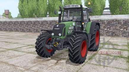 Fendt 820 Vario TMS løader møunting para Farming Simulator 2017