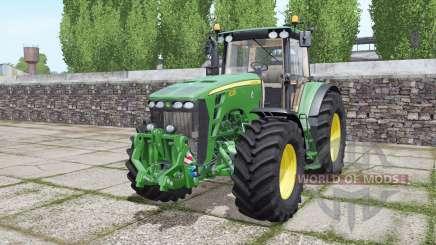 John Deere 8330 double wheels para Farming Simulator 2017
