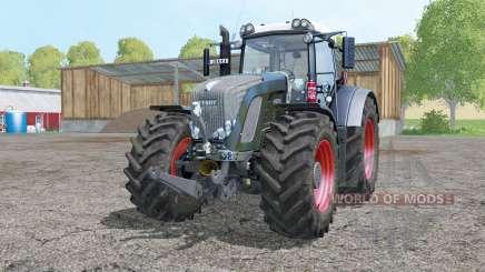 Fendt 936 Vario Black Beauty double wheels para Farming Simulator 2015