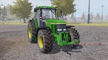 John Deere 7810 animation parts para Farming Simulator 2013