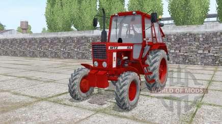 MTZ 82 Bielorrússia vermelho escuro para Farming Simulator 2017