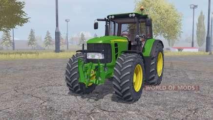 John Deere 6630 Premium front loader para Farming Simulator 2013
