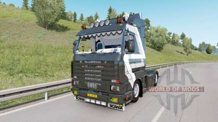 Scania 143M V8 420 custom para Euro Truck Simulator 2