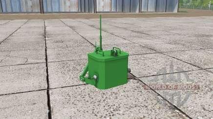 John Deere self made weight para Farming Simulator 2017