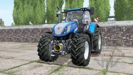 New Holland T7.315 wheels selection para Farming Simulator 2017