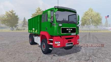 MAN TGA tipper Agroliner v4.0 para Farming Simulator 2013