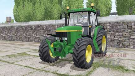 John Deere 6610 Standard Pipe design para Farming Simulator 2017