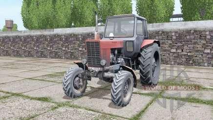 MTZ 82 Bielorrússia com uma grande variedade de configurações para Farming Simulator 2017