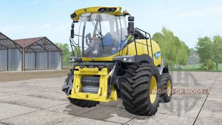 New Holland FR850 double front wheels para Farming Simulator 2017