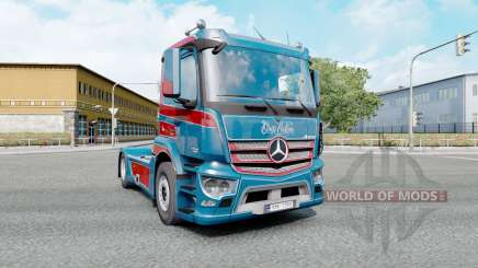 Mercedes-Benz Antos 1840 2012 Kings Customs para Euro Truck Simulator 2