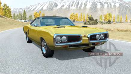 Dodge Coronet RT (WS23) 1970 v3.3 para BeamNG Drive