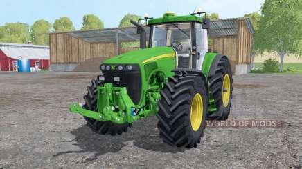 John Deere 8520 extra weights para Farming Simulator 2015