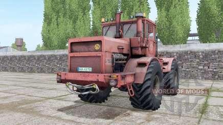 Kirovets K-700A ninasimone-vermelho para Farming Simulator 2017