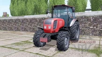 Bielorrússia 2022.3 traseiro rodas duplas para Farming Simulator 2017