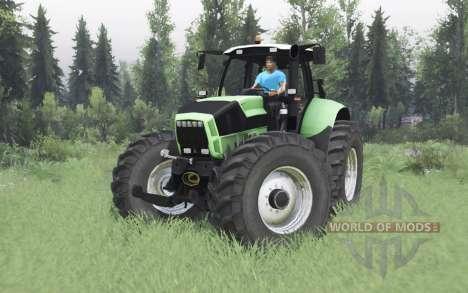 Deutz-Fᶏhr Agrotron X 720 para Spin Tires