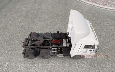 KamAZ 54115 Motoristas De Caminhão para Euro Truck Simulator 2