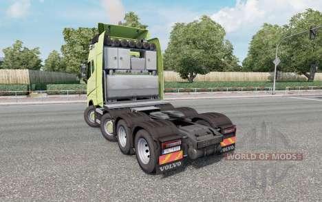 Volvo FH16 750 8x4 Globetrotter XL 2014 para Euro Truck Simulator 2