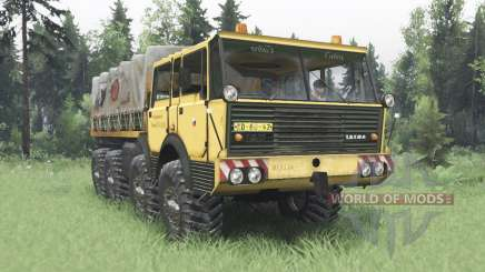 Tatra T813 TP 8x8 1967 Kings Off-Road 2 para Spin Tires