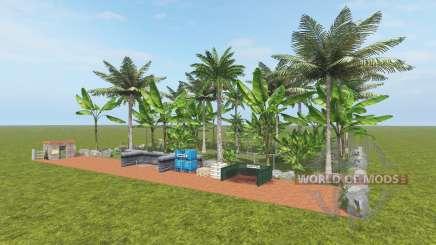 Fruit Farm - Coconut and Banana para Farming Simulator 2017