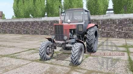 MTZ Bielorrússia 82 velho diesel para Farming Simulator 2017