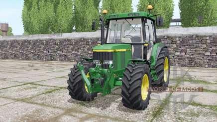 John Deere 6410 wheels selection para Farming Simulator 2017