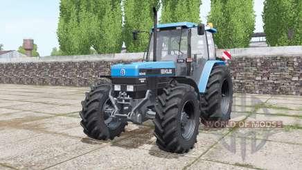 New Holland 8340 More Realistic para Farming Simulator 2017