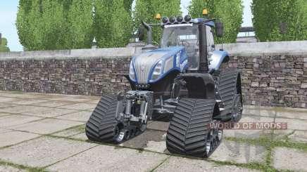 New Holland T8.420 crawler modules para Farming Simulator 2017
