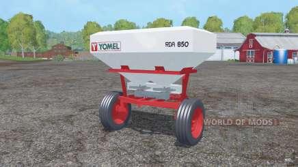 Yomel RDA 850 para Farming Simulator 2015