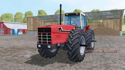 International 3588 double wheels para Farming Simulator 2015