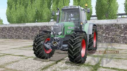 Fendt 820 Vario TMS wheels selection para Farming Simulator 2017