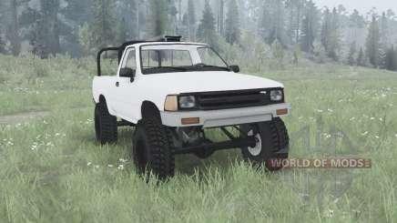 Toyota Hilux Single Cab para MudRunner