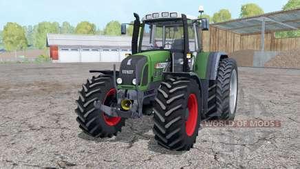 Fendt 820 Vario TMS dual rear wheels para Farming Simulator 2015