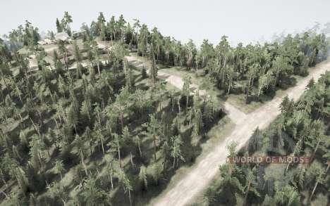 Floresta alterar para Spintires MudRunner