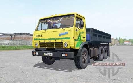 KamAZ 5320 com um trailer NEPA 8560 para Farming Simulator 2017