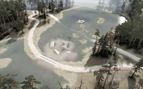 Minas abandonadas v2.0 para Spintires MudRunner