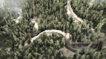 6 cobra estrada para MudRunner
