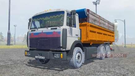 MAZ 5516 6x4 para Farming Simulator 2013