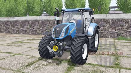New Holland T6.140 Michelin tires para Farming Simulator 2017