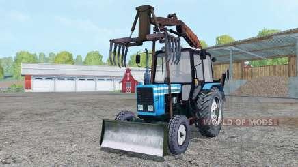 MTZ Bielorrússia 82.1 garra para Farming Simulator 2015