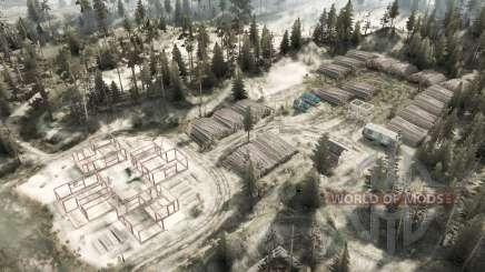 Lugares esquecidos para MudRunner