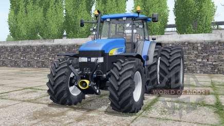 New Holland TM175 new beacon lights para Farming Simulator 2017
