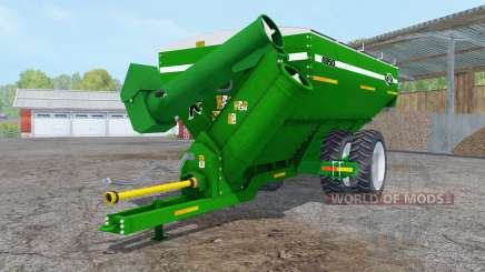 Kinze 1050 green row crop duals para Farming Simulator 2015
