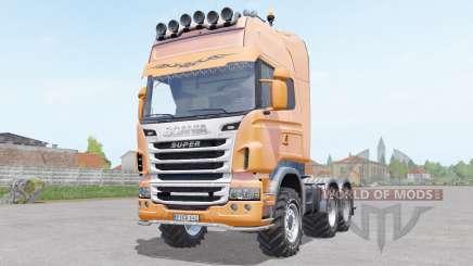 Scania R730 Toplinᶒ para Farming Simulator 2017