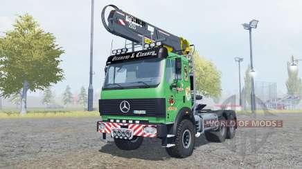 Mercedes-Benz 2631 S timber loader v2.0 para Farming Simulator 2013