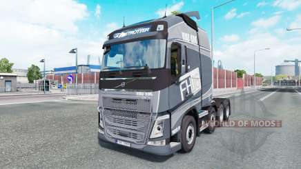 Volvo FH16 750 8x4 Globetrotteᶉ XL 2014 para Euro Truck Simulator 2