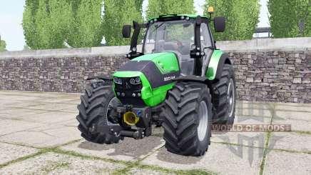 Deutz-Fahr Agrotron 6190 TTV wheels selection para Farming Simulator 2017