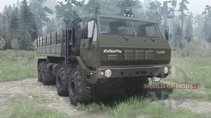 CRA 7Э6316 Sibéria para MudRunner